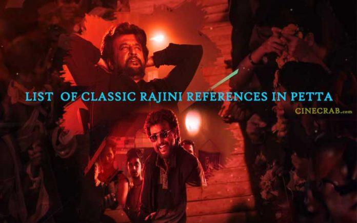 Rajinikanth Movie References Used In Petta