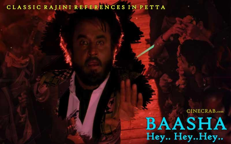 Petta Movie Inspired From - Petta Movie Inspired From - Rajinikanth in Baasha