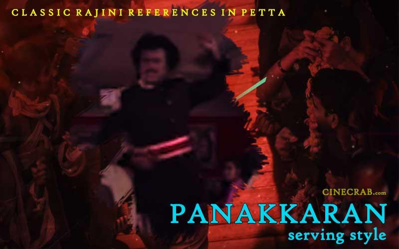 Petta Movie Inspired From - Petta Movie Inspired From - Rajinikanth in Panakkaran Serving Plates