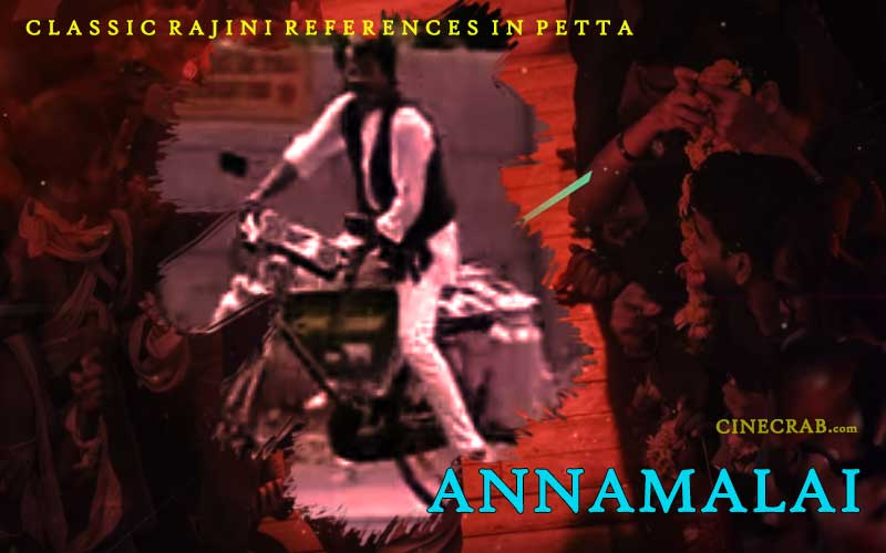 Petta Movie Inspired From - Petta Movie Inspired From - Rajinikanth in Annamalai Cycle